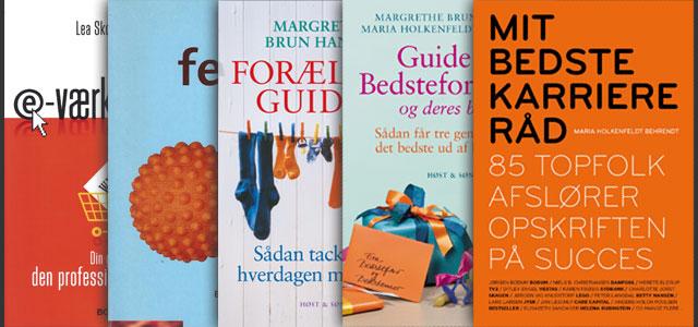 Billede af Marias bogudgivelser