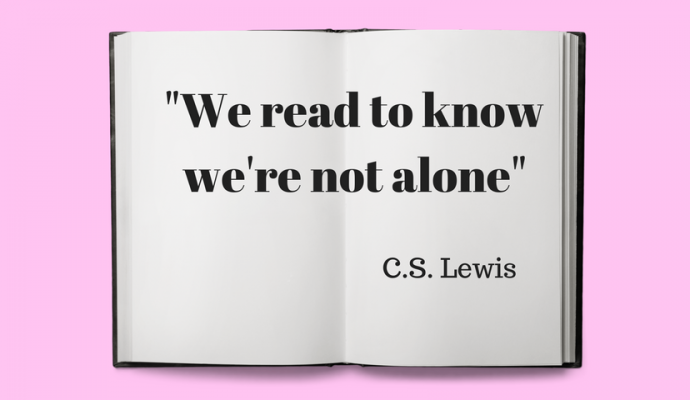 we read to know that we are not alone, C.S. Lewis
